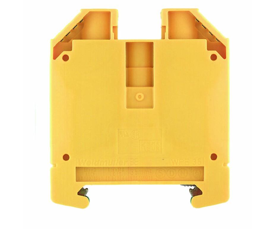 Weidmuller WPE35 PE Terminal Block, Screw Connection