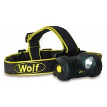 Wolf Safety HT-650 ATEX LED Headtorch, Zone 0, 130 Lumens